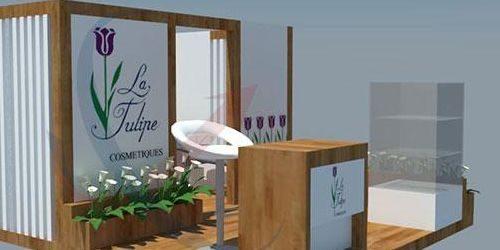 Jasa Pembuatan Booth Pameran Latulipe