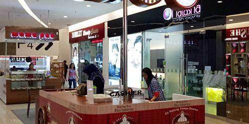 Jasa Pembuatan Booth Interior Booth Es Krim Njonja Besar